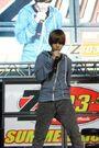 Justin performing at Z103.5 Summer Rush