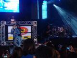 Justin performing at Summer Rush
