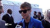 Mark Wahlberg Talks Basketball With Justin Bieber