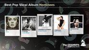 Best Pop Vocal Album Nominees The 59th GRAMMYs