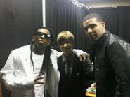 Lil Wayne, Justin Bieber & Drake