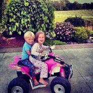Jaxon and Jazmyn Bieber