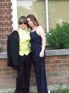 Justin and his mom 2