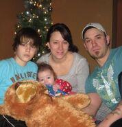Justin Bieber family christmas