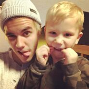 Justin and Jaxon The Two Blondies