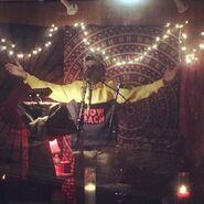Justin Bieber in the studio 2018