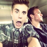 Justin and Ryan Butler October 2012