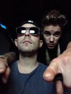Justin Bieber with Josh Gudwin January 2014