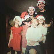 Chelsey Rebelo at Christmas