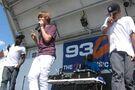Justin singing at Family Frenzy 2009