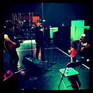 Dankanter justinbieber lordbieber and Lil Jazzy at rehearsal