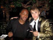 Taio Cruz and Justin Bieber 2011