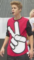 Justin Bieber MMVAS rehearsal