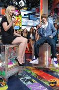 Justin Bieber on MOD July 2009