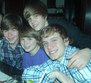 Chaz, Christian, Justin and Ryan in the Bahamas 2010