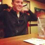 Ryan Butler laughing