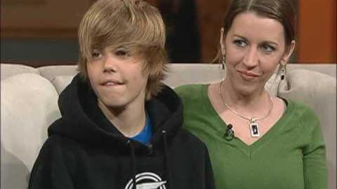 Justin Bieber - First time on Television