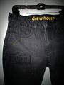 Secret patch distressed jean - vintage black