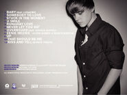 My World 2.0 back cover