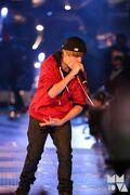 JB performing MuchMusic Video Awards 2010
