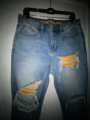 Distressed jean - vintage indigo