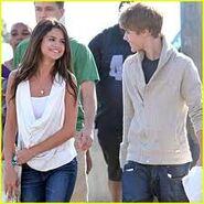 Justin and Selena G.