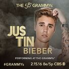 The Grammys Justin Bieber performing ad