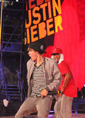 Justin Bieber rehearsing MMVAs 2010