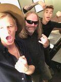 Cody Simpson with Wayne Isham and Justin Bieber