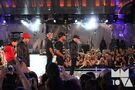 Justin Bieber with dancers MuchMusic Video Awards