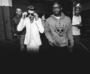 Justin Bieber and DJ Tay James Believe Tour