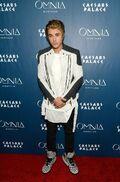 Justin Bieber red carpet 21st birthday party