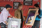 Bieber in Mexico October 2011