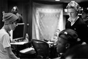 Justin and Cody in the studio 2012