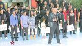 Michael Jackson hand & footprint ceremony (COMPLETE)