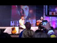 Justin Bieber Frankfurt Flughafen-Airport Privatkonzert 11.09