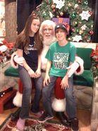 Jaitlin at Christmas