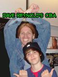 Dave Reynolds and Justin Bieber 2009