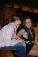 Justin with Caitlin