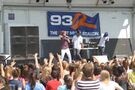 Justin singing at Family Frenzy 2009 in Syracuse