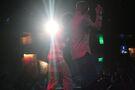 Justin Bieber and Lil Twist performing 2011