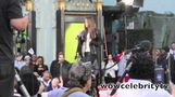 Justin Bieber arrives at Michael Jackson Immortal Day at Chinese Theater in Hollywood