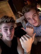 Justin Bieber with Ryan Butler September 2014