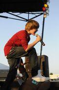 Justin at Rock the Rapids 2009