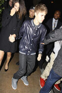 Justin Bieber 17th birthday with Selena Gomez