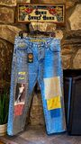 Drew x drew distressed jean - vintage blue