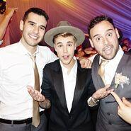 Justin Bieber at TAwedding 2014