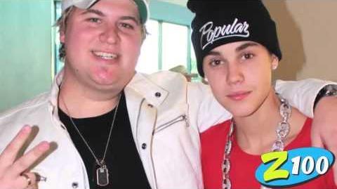 Brett Andrews interviews Justin Bieber
