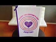 Justin Bieber Valentine's Day