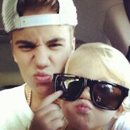 Jaxon with sunglasses